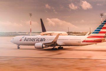 Flight to Australia from New York