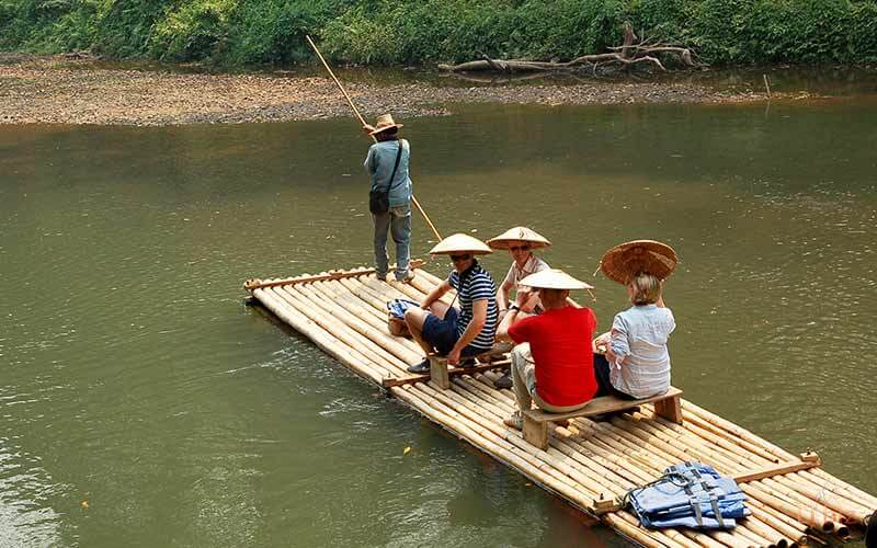 Bamboo Rafting Rivers