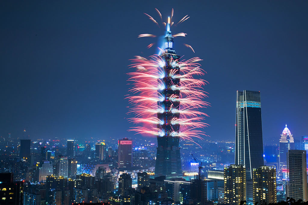 Taiwan : New Year Eve