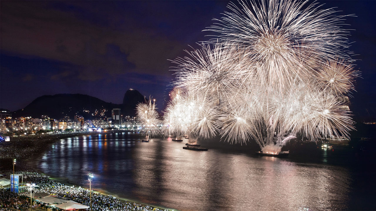 Rio : New Year Eve